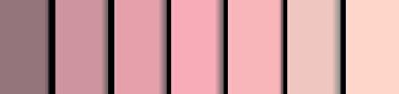 膚色的漸層色。(Shutterstock)
