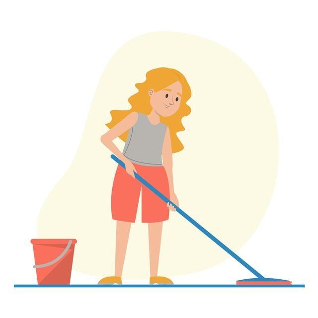 孩子防疫在家,教導孩子們一些必要技能、處事標準和良好的習慣,以便他們在未來的日子裡照顧好自己的家。(123RF)