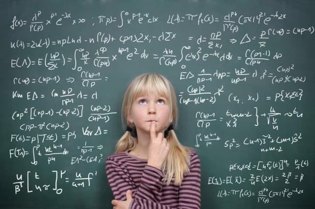學生們經常覺得數學這門課很乏味或困難,但如果你願意投入努力,學好數學真的不是難事。(Fotolia)