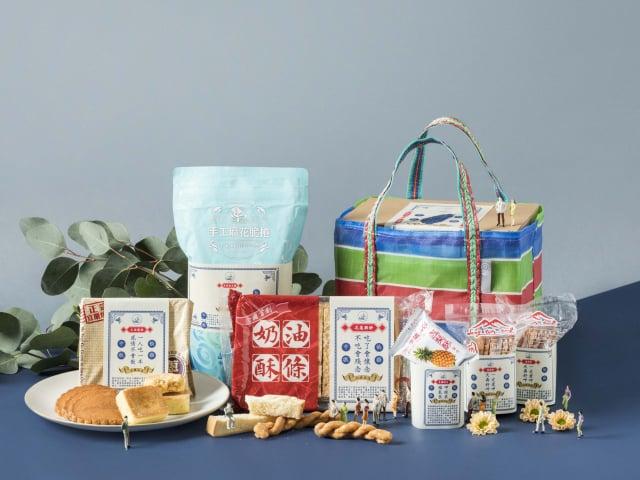 HOLA首度推出「臺五線手工餅盒」網羅5家排隊名店。(HOLA提供)