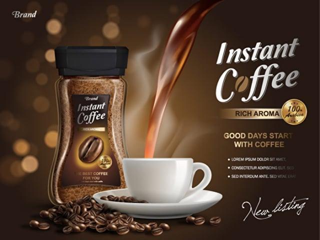 即溶咖啡適合忙碌的早晨。(Shutterstock)
