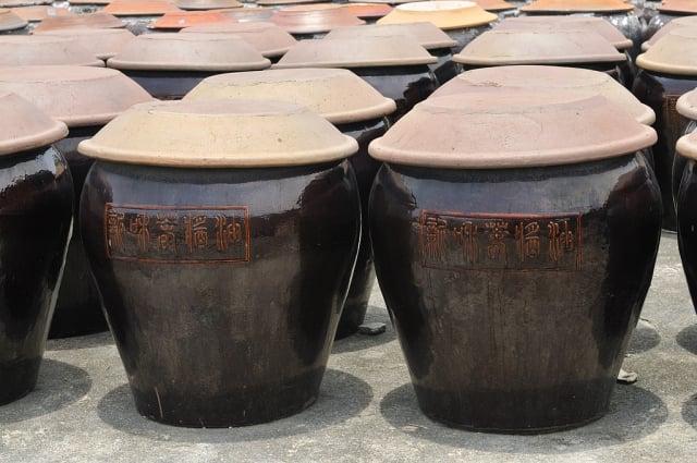 傳統古法釀造醬油,完全不需添加任何化學原料。(攝影/ 蘇玉芬)