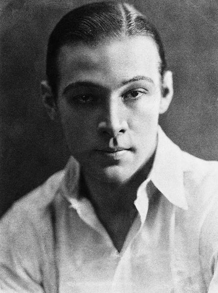 魯道夫‧瓦倫蒂諾(Rudolph Valentino )。(公有領域)