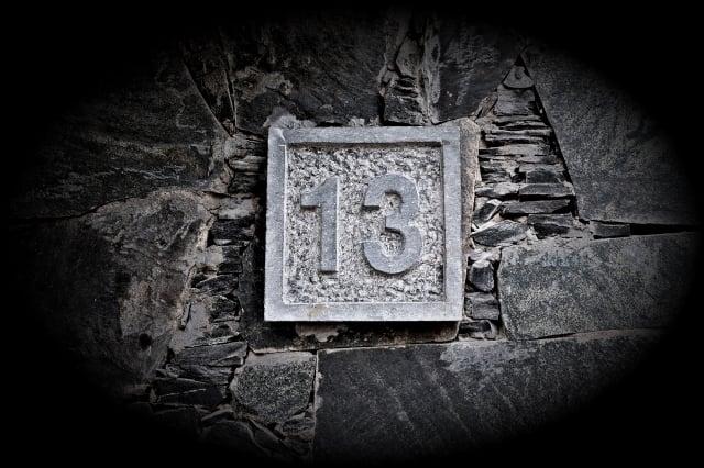 數字13不吉利的說法,與世界上最古老的法典之一《漢謨拉比法典》有關。(Shutterstock)