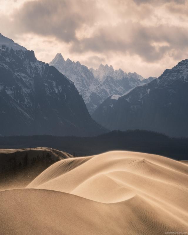 查拉沙漠。(攝影師丹尼爾‧科爾丹提供)
