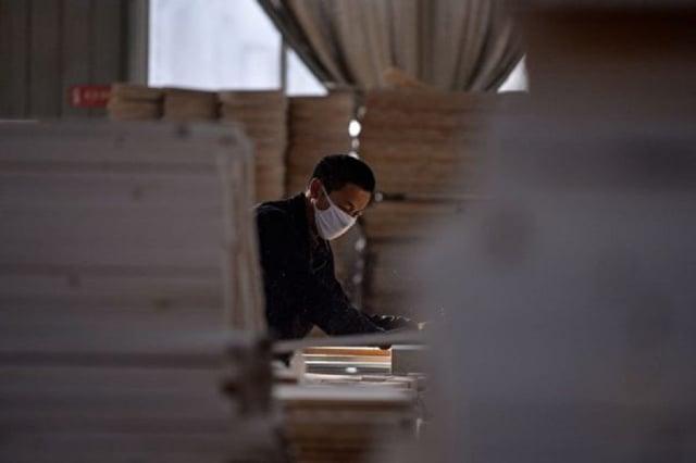 大陸7月和8月的經濟數據表現黯淡。(CHANDAN KHANNA/AFP via Getty Images)