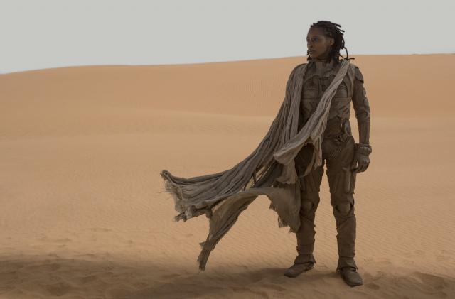 列特凱恩斯(莎朗鄧肯布魯斯特飾演)是研究沙丘的專家。(華納兄弟提供)