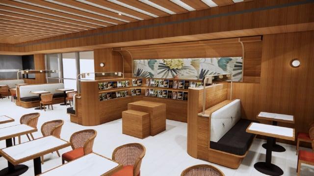誠品生活新板店今年10月將增設全新黑卡會員專屬空間「eslite premium」。(誠品生活提供)
