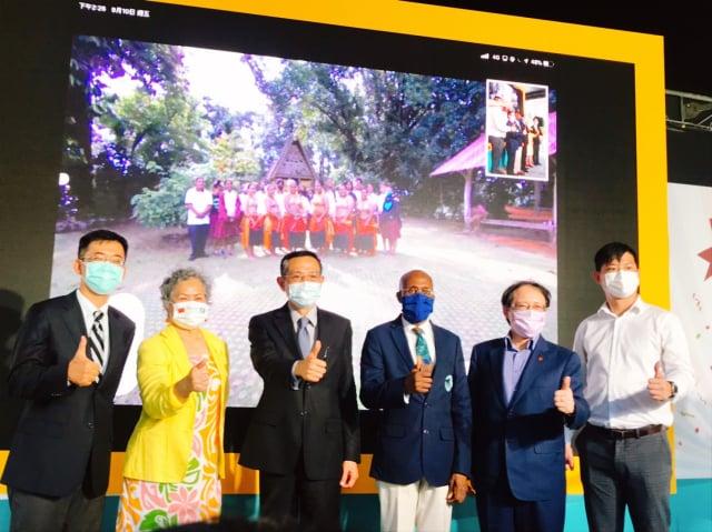邦交國嘉年華系列活動在臺北市信義區香堤大道廣場展開。(記者侯駿霖/攝影)