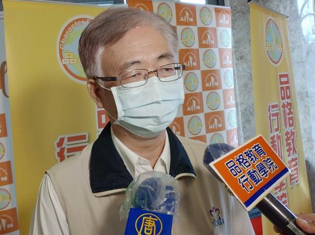 臺南市教育局副局長王崑源。(攝影/賴友容)