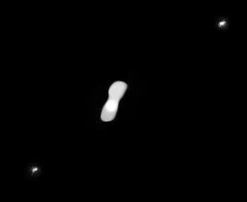 奇特小行星長得像狗骨頭
