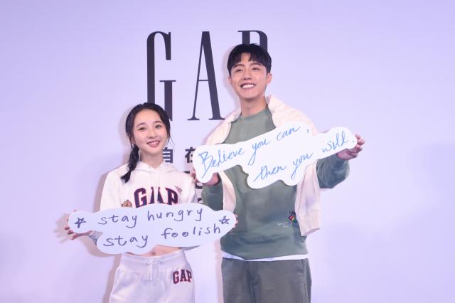 (左起)李沐與蔡凡熙首度合作同臺亮相。(記者黃宗茂/攝影)