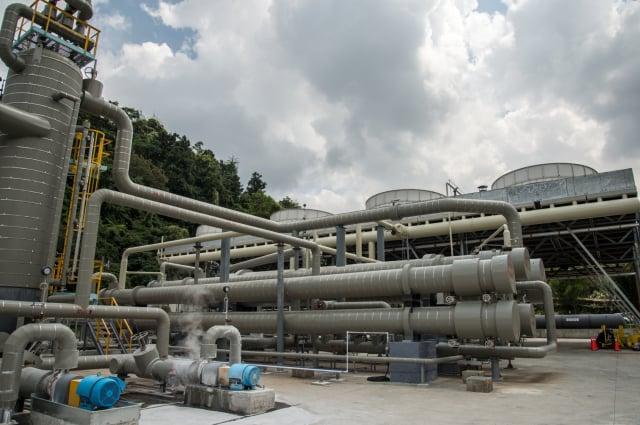 清水地熱電廠9月底商轉。(宜蘭縣政府提供)