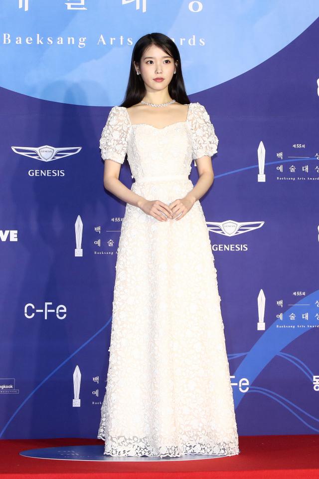 韓國人氣歌手IU(李知恩)資料照。(Chung Sung-Jun/Getty Images)