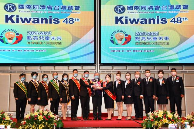 國際同濟會舉辦47–48屆竹苗區主席交接。(記者賴月貴/攝影)