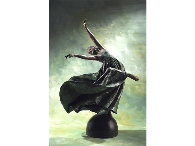 舞蹈系列《花團錦簇》。(洪瓊華提供)