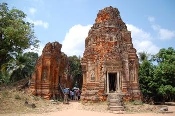 羅蕾寺現僅殘存4座紅磚建築。