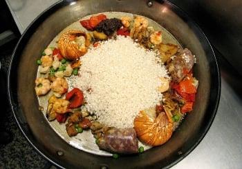 西班牙海鮮飯。 (AFP )