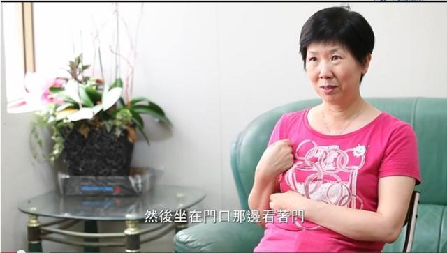 張美月目前是台南市熱蘭遮失智症協會志工,希望把她的經驗,分享給更多需要幫助的家屬。(攝影/陳霆)