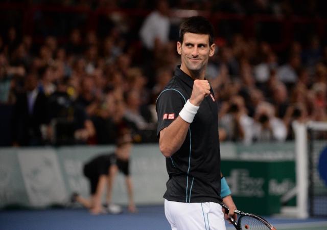 喬科維奇順利拿下巴黎名人賽冠軍。(Getty Images)