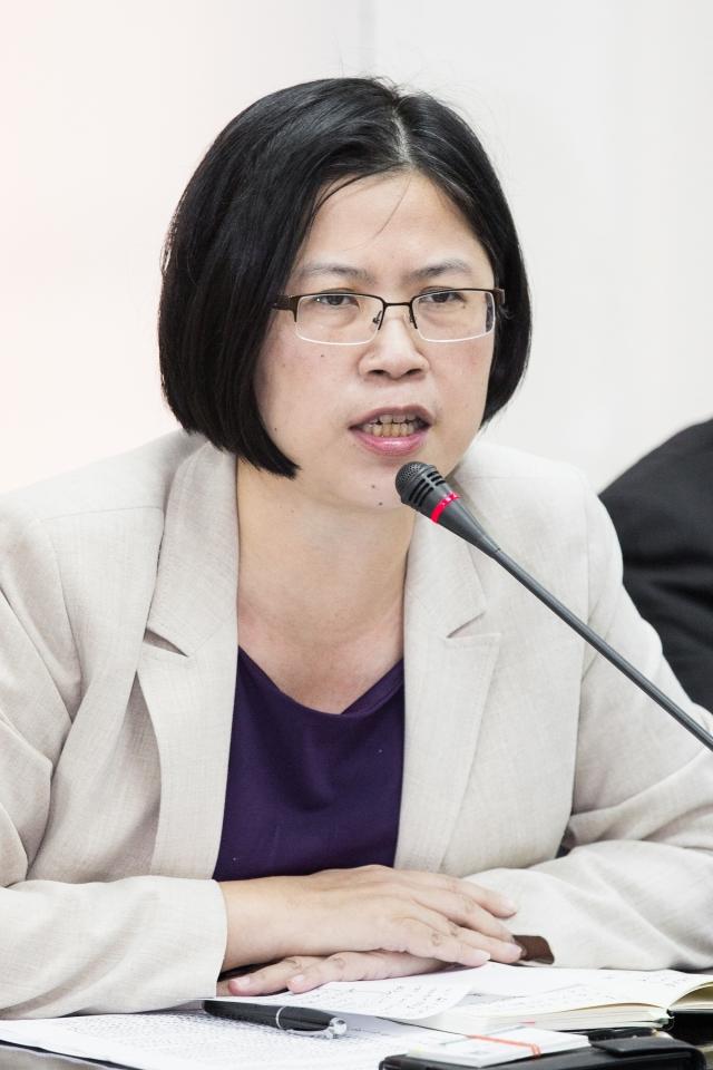 朱婉琪律師。(記者陳柏州/攝影)