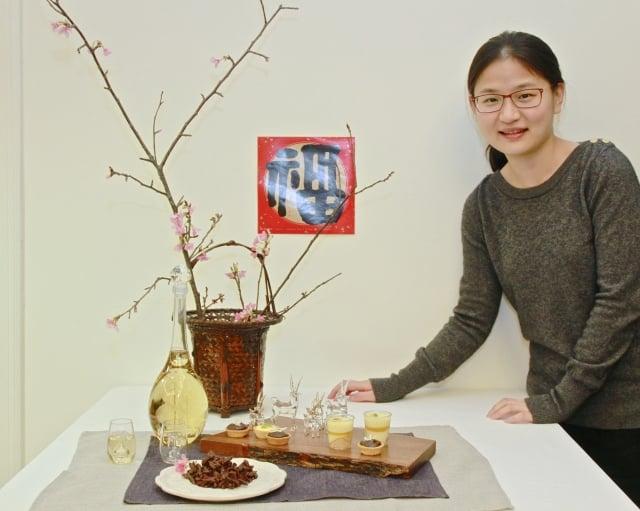 吳珮蓁的精緻蛋糕,健康營養又美味。(記者許享富/攝影)