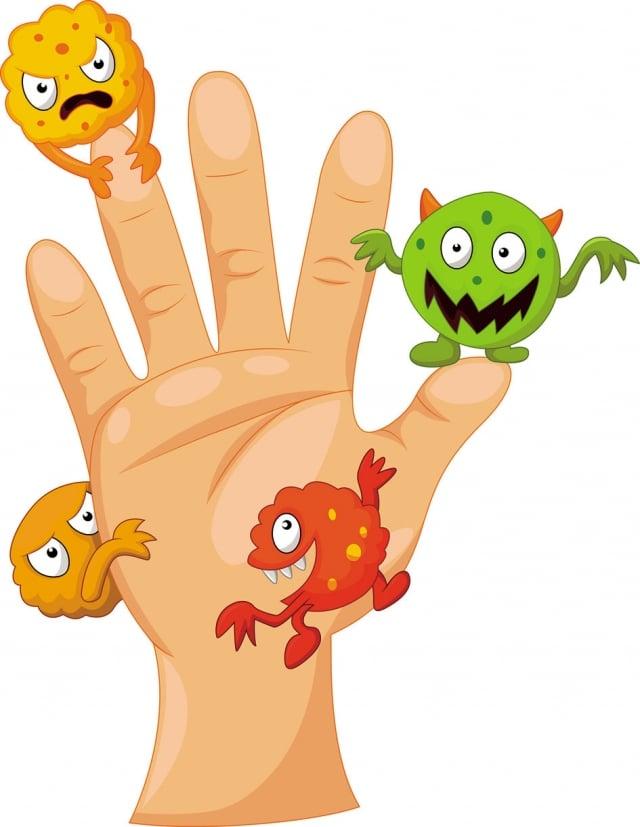 手上有細菌(fotolia)
