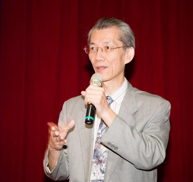 台大政治系教授明居正。(記者鄭順利/攝影)