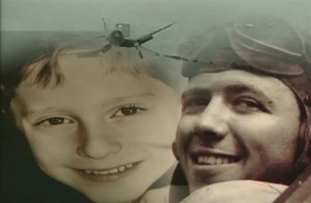 3歲小傢伙被認為是美軍二戰飛行員輪迴轉生。(YouTube影片截圖) (記者/攝影)
