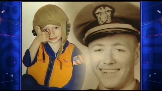 3歲小傢伙被認為是美軍二戰飛行員輪迴轉生。(YouTube視頻截圖)