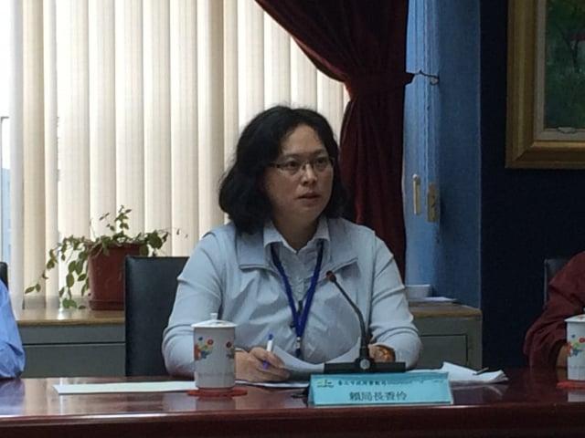 台北市勞動局長賴香伶表示,《就服法》沒有禁止也沒授權行政單位公布違法事業單位及負責人姓名,無法遏止非法使用外勞歪風。(記者徐翠玲/攝影)
