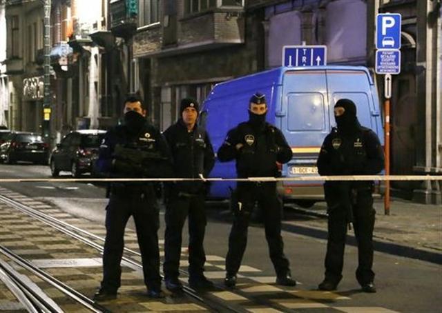 比利時首都布魯塞爾遭遇恐怖攻擊,伊斯蘭國宣稱犯案,布魯塞爾警察處於最高警戒狀態。(中央社資料照片)
