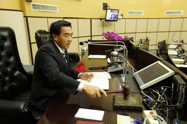 台南市議長李全教涉議長賄選案,一審判4年、褫奪公權5年,並停止議長職務。(中央社)