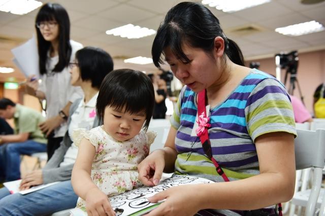 兒童福利聯盟的調查發現,台灣媽媽的幸福感平均只有68分。(兒童福利聯盟提供)