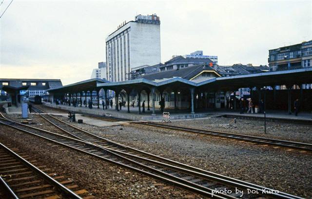 1984年台北驛站。(Doi Kuro提供)