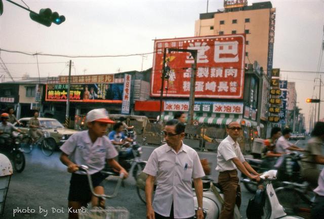 1984年高雄鹽埕區。(Doi Kuro提供)