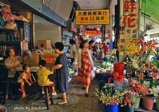 1993年台中建國市場。(Doi Kuro提供)