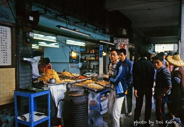 1984年台北中華商場。(Doi Kuro提供)