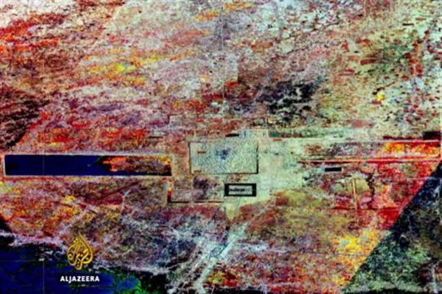 激光掃描獲得的建築分佈數據(視頻截圖)