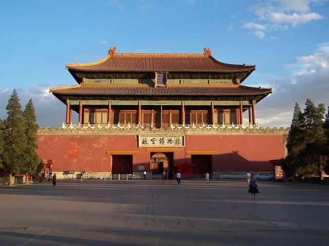 紫禁城神武門,現為北京故宮博物院正門。(維基百科)