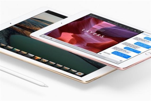 蘋果公司(Apple)新推出的9.7英寸iPad Pro,3月31日開始出貨。許多用戶在收到新iPad Pro之後,紛紛分享他們的使用心得。(蘋果官網截圖)