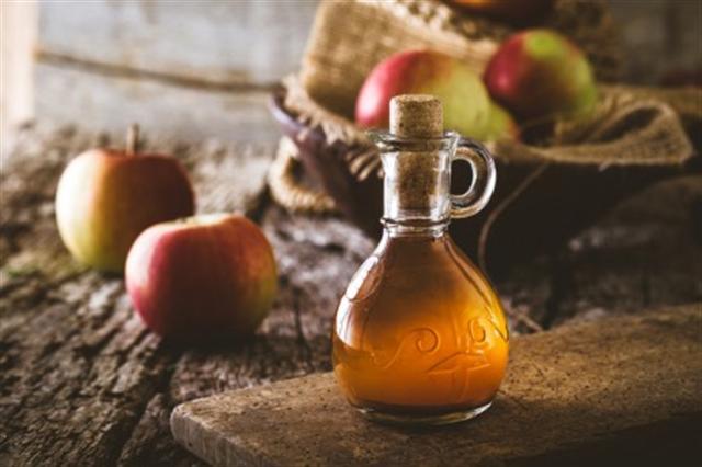 蘋果醋。(Shutterstock)