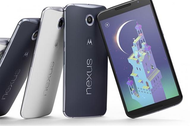 Nexus 6是谷歌2015年11月才發佈的最新旗艦型手機,但據說今年9月以後將會推出全新自有品牌的新手機。(谷歌官方網站)