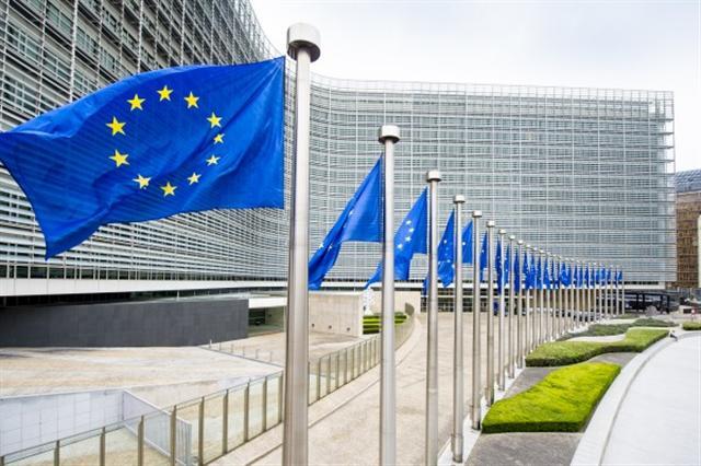 歐盟委員會位於布魯塞爾的總部大樓。  圖片來源:© European Union , 2016 / Source: EC - Audiovisual Service 攝影:Etienne Ansotte.