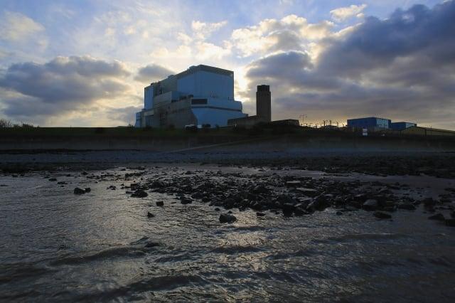 英國的辛克利角目前的核電廠。(Getty Images)
