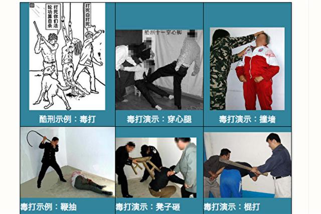 中国民主党反酷刑观察:中共酷刑:毒打