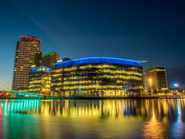 BBC進駐曼徹斯特媒體城,此舉吸引英國房地產投資人目光,帶動週邊房價。