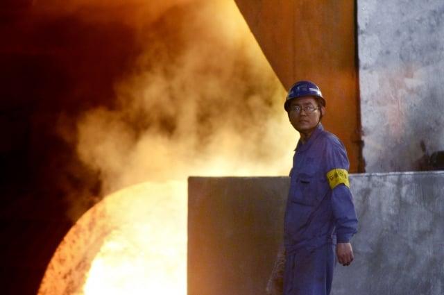 中國發展核電,但核電廠員工卻因技術經驗不足,不時引發事故。(Getty Images)