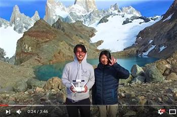 【影片】好浪漫!空拍機記錄蜜月旅行 日夫婦400天遊48國