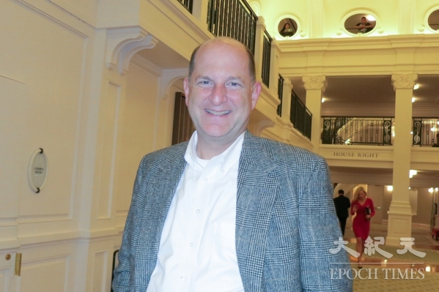 美國南卡羅來納州查爾斯頓的律師John Kern。(記者林南宇/攝影)